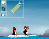 Lövöldözős Conquer antarctica pingvin játék
