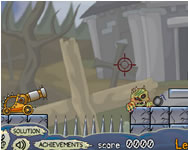 Roly Poly Cannon Bloody Monsters Pack 2 online játék